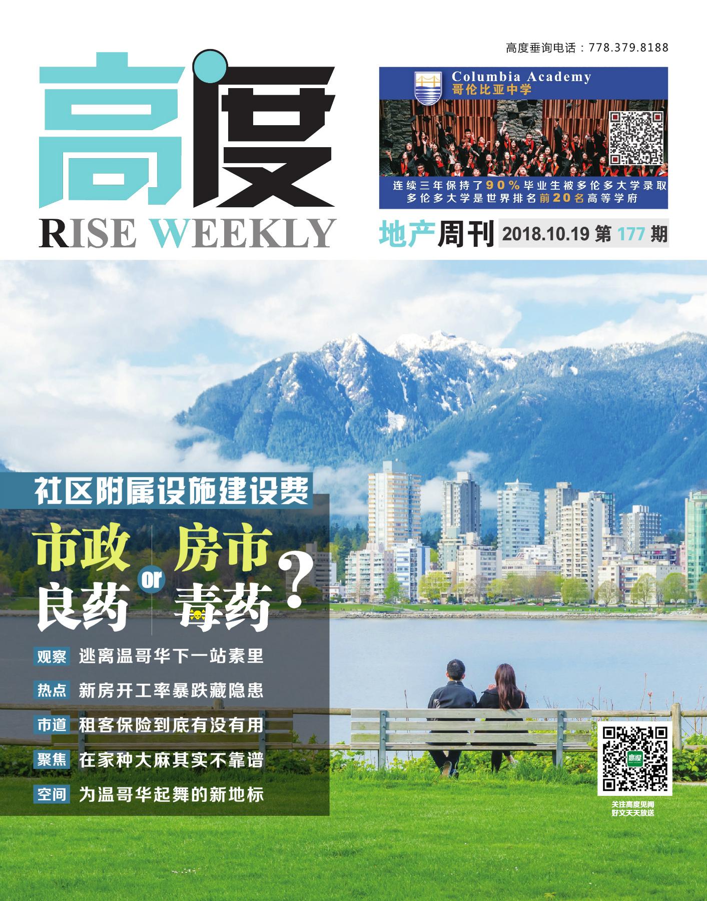 高度地产周刊 2018年10月19日 第177期