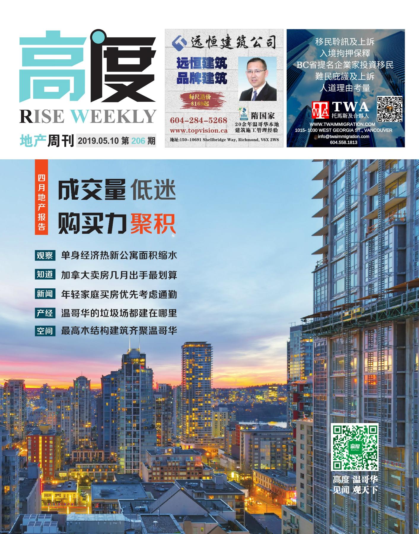 高度地产周刊 2019年05月10日 第206期