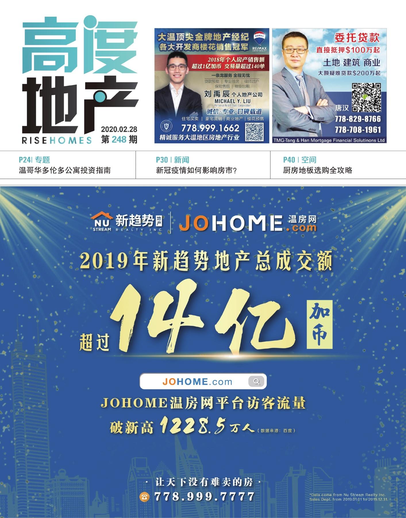 高度地产周刊 2020年02月28日 第248期