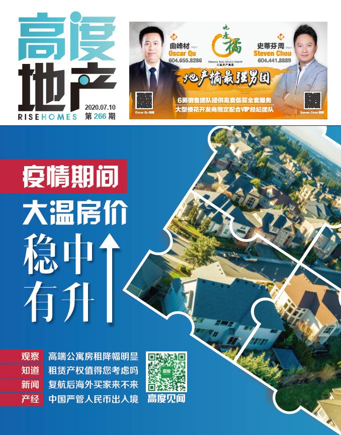 高度地产周刊 2020年07月10日 第266期