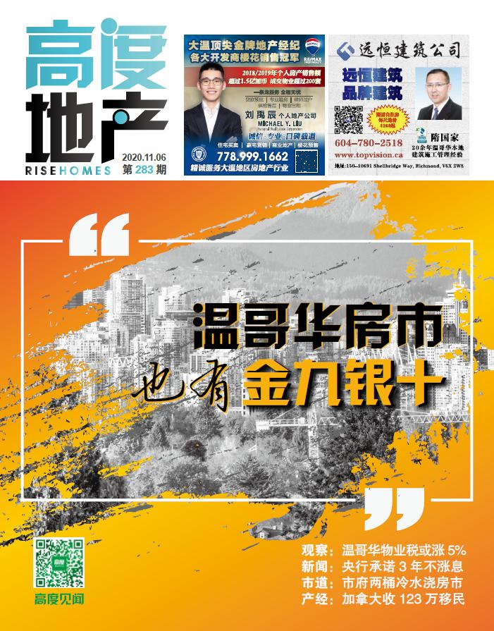 高度地产周刊 2020年11月06日 第283期