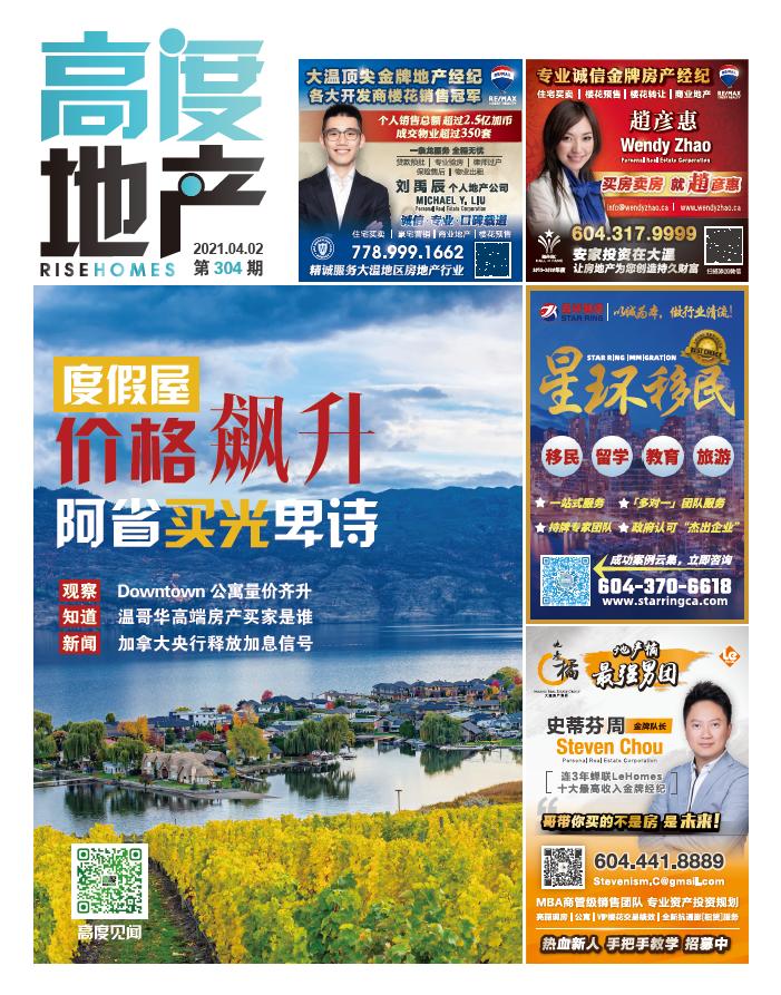 高度地产周刊 2021年04月02日 第304期